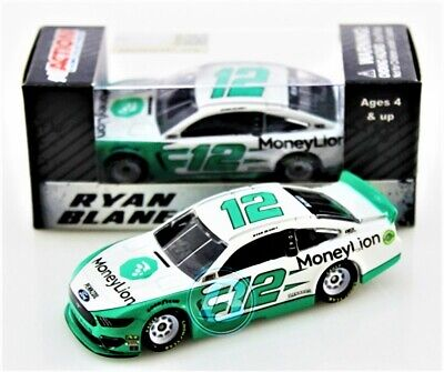 Ryan Blaney 2019 ACTION 1:64 #12 MoneyLion Ford Mustang Nascar Monster Diecast