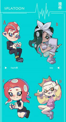 Splatoon 2 Squid Neon Octopus HIME IIDA MIKO Sticker Paper A5 Limited Be