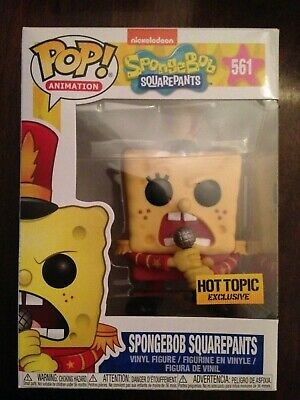 Funko POP! Vinyl POP! Animation Spongebob Squarepants Hot Topic #561