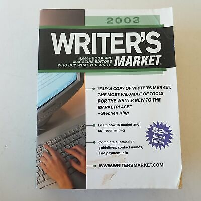 Writers Market 2003 - 82nd Annual Edition