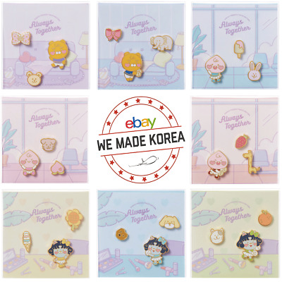 KAKAO FRIENDS Twice Edition Metal Pin Badge Limited Edition Authentic K-POP MD