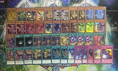 Yugioh Complete Fortune Lady Fairy Deck Dark Light Past Hikari Earth Wind Water