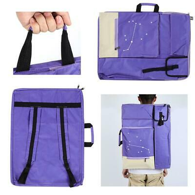 Multi-functional Art Portfolio Shoulder Bag Sketchpad Bag Canvas Bag Waterproof