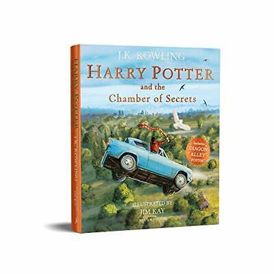 Harry Potter and the Chamber of Secrets: Illustrated Edition New Paperback Book