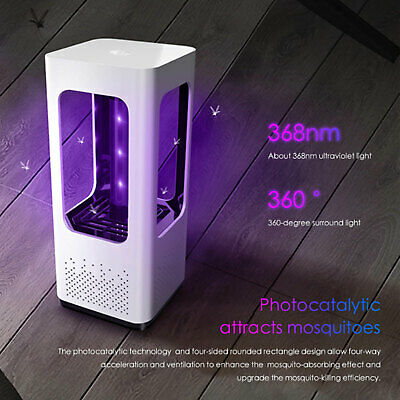 USB UV LED Pest Repeller Anti Zanzare Insetti Repellente Volanti Killer lamp