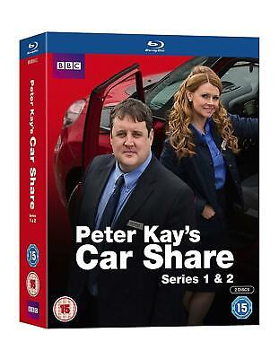 Blu Ray Peter Kay's CAR SHARE the complete series 1 & 2. New sealed.
