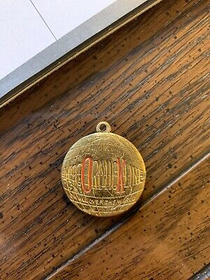 1890's McCormick Line The OK Line All Over The World Farm Advertising Watch Fob