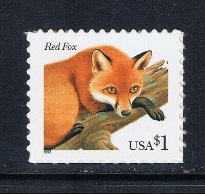 3036A Red Fox Mint Single Stamp 2002