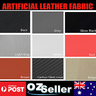 Artificial Faux Leather Fabric Vinyl Upholstery Leatherette Marine Boat Car Seat