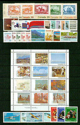 Canada  Complete Year 1982- Tb**