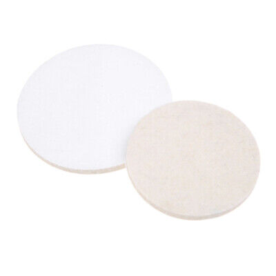 100 125mm Wool Felt Buffing Polishing Wheel Hook and Loop Disc Pad for Car Metal