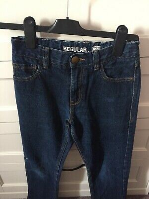 NEXT Boys Blue Regular Fit Jeans Age 11 Adjustable Waistband