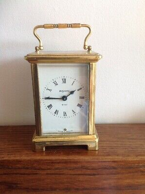Vintage Bayard French Carriage Clock