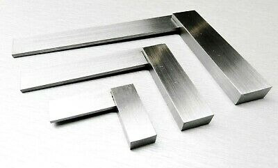 """3 Pc Machinist Squares SET 2"""" 4"""" 6"""" Engineer's 90º Right Angle Gauge"""