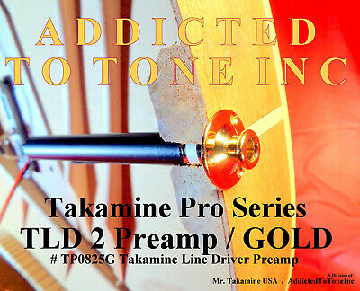 Takamine Pro Series TLD 2 Line Driver Preamp / GOLD / Genuine OEM Part