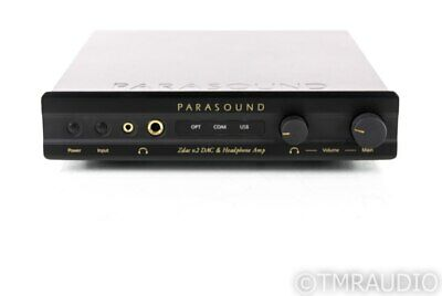 Parasound Zdac v.2 DAC / Headphone Amplifier / Preamplifier; V2