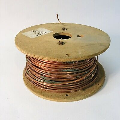 Soft Drawn Copper #8 Solid Partially Used 500 Foot Spool