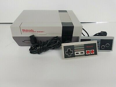 Nintendo Entertainment System Action Set Console - Gray (With Box)