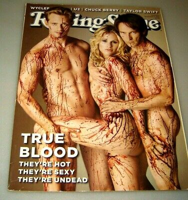 Rolling Stone Magazine September 2 2010 True Blood