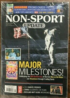 Non-Sport Update & Price Guide Magazine August/September 2019 Issue