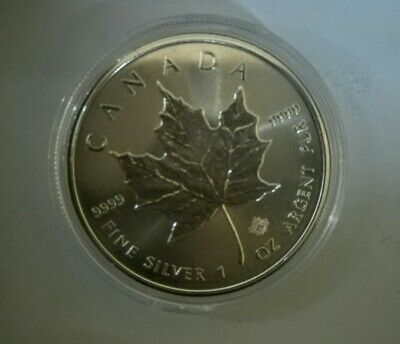 CANADA 1 once argent fin  999 maple leaf  2016 UNC