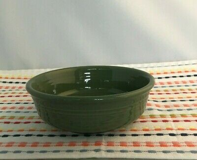 Fiestaware Sage Small Bowl Fiesta Small 14 oz Retired Green Cereal Bowl