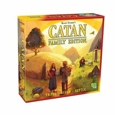 NEW! 2018 Catan: Family Edition Board Game (Klaus Teuber) #7003