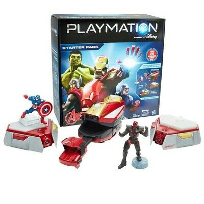 Playmation Marvels The Avengers Starter Pack Iron Man Repulsor *** Brand New ***