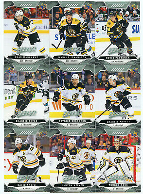 19/20 Upper Deck Mvp Hockey Team Sets #1-200