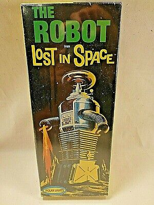 The Robot From Lost In Space Plastic Model Kit POLAR LIGHTS 1997, SEALED MIB