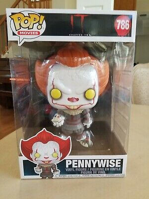 Funko Pop! Movies IT - Pennywise 10 Inch #786 Vinyl Figure Collectible