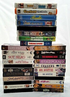 YOU PICK 5 VHS for $10 Family Comedy Classics