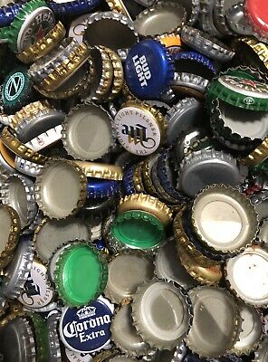 500 ((MIXED)) Beer Bottle Caps -No dents. Great mix / Assortment. Free Fast Ship