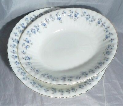 Lot of Royal Albert Memory Lane Open Oval and Round Vegetable Bowls