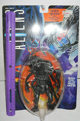 ALIENS-Alien Queen 1992 VTG Action Figure w/Deadly Chest-Hatchling NRFP Kenner