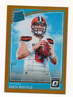 2018 Donruss Optic Football Bronze Copper Holo Rated Rookie RC U You Pick Choose