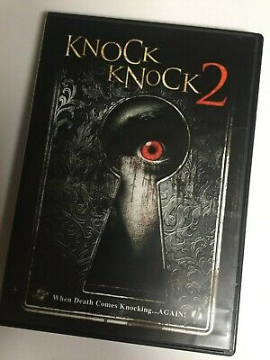 Knock Knock 2 (DVD,2012,Widescreen) Not a Scratch! USA!