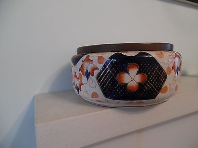 Imari Design Bowl - Burslem Pottery- W Wood & Co 1915-1932