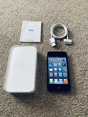 Apple iPod Touch 4th generation 16GB In Black Boxed Bundle