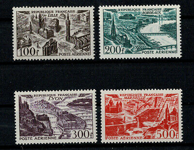 France 1949, Y&T Pa 24/27, Neufs **, Mnh, Luxe. Cote 110 Euros.