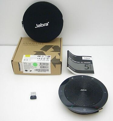 Jabra Speak 510+ MS USB Bluetooth Wireless PC Speakerphone with Link 360 Dongle