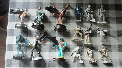 Mixed lot of star wars figures