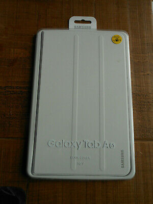 Genuine Samsung Galaxy Tab A6 10.1 inch Book Cover Case - White BRAND NEW SEALED