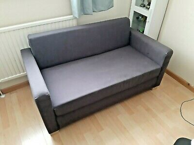 Enjoyable Ikea Solsta Small Compact Two Seat 2 Seater Sofa Bed Evergreenethics Interior Chair Design Evergreenethicsorg