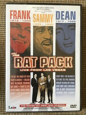 The Rat Pack Live From Las Vegas DVD New Sealed