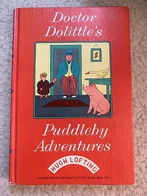 Doctor Dolittles Puddleby Adventures 1925  Copyright