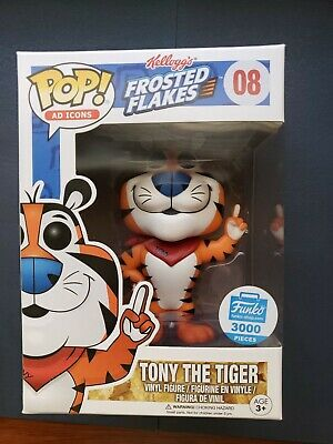 Funko Pop! Tony the Tiger Shop Ad Icons #08 Frosted Flakes Cereal VAULTED GRAIL