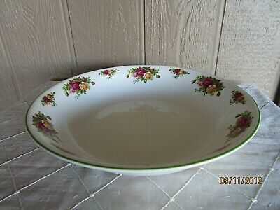 Royal Albert Old Country Roses Large Pasta Serving Bowl 1998