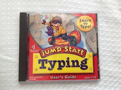 JUMP START TYPING User's Guide- ages 7-10 - cd rom