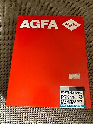 Agfa Portriga Rapid PRN 118 GR 3 Photographic Paper Double Weight -sealed